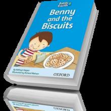 کتاب داستان کودکان Benny and the Biscuits