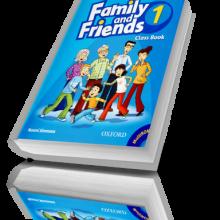 کتاب آموزش زبان کودکان Family and Friends1