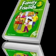 کتاب آموزش زبان کودکان Family and Friends 3