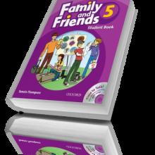 کتاب آموزش زبان کودکان Family and Friends 5