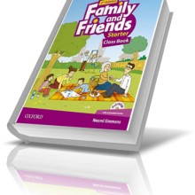 کتاب آموزش زبان کودکان - Family and Friends starter