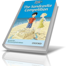 کتاب داستان انگلیسی کودکان The Sandcastle Competition