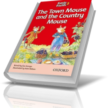 کتاب داستان He Town Mouse and the Country Mouse